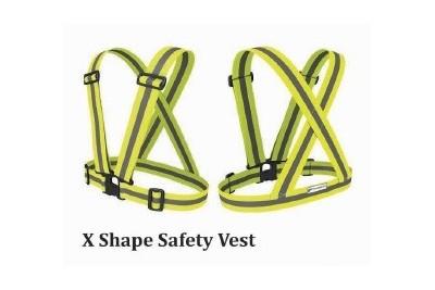 X Shape Safety Vest