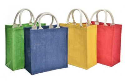 JR261 – Coloured Jute Bag