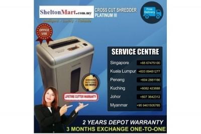 Medium Duty Paper Shredder PlatinumIII