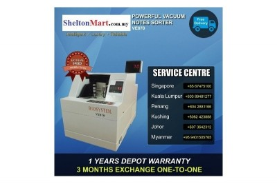 Powerful Vacuum Notes Counter - VE870