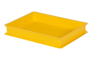 Stackable Food Grade Tray - Yellow