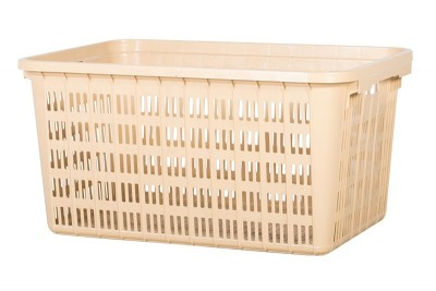 Industrial Basket - Cream / Black