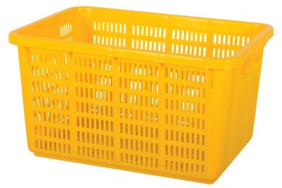 Industrial Basket - Yellow