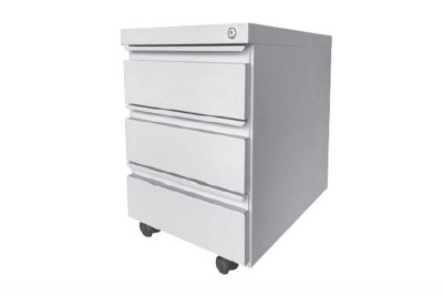 Steel Mobile Pedestal with Ball Bearing Slide (3 Drawer)