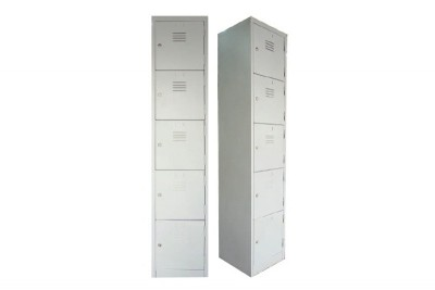 5 Compartment Steel Locker