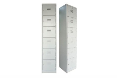6 Compartment Steel Locker