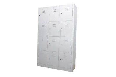 12 Compartment Steel Locker (Multiple Locker)