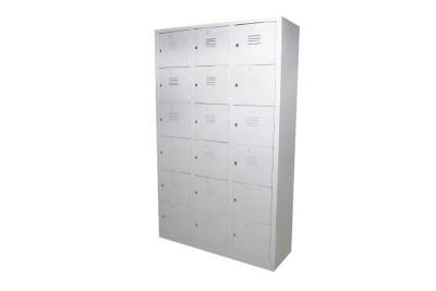 18 Compartment Steel Locker (Multiple Locker)
