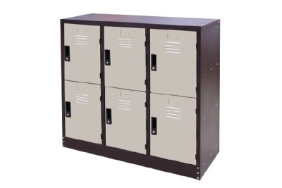 6 Compartment Steel Locker (Half Height Locker)