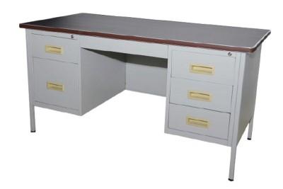 5' Double Pedestal Desk