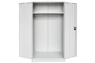 Full Height Cupboard with Steel Swinging Door c/w 1 Shelves(Top), 1 H.Bar(Btm)
