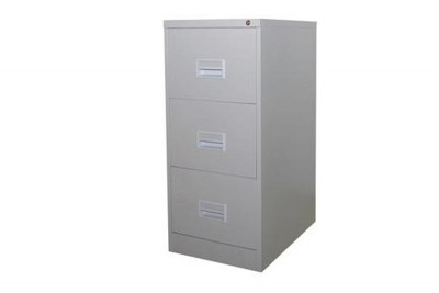 3 Drawer Filling Cabinet With Recess Handle c/w Ball Bearing Slide