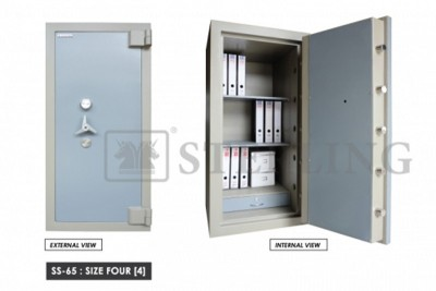 Banker Safe Size Four Secured by Keylock & Combination Lock