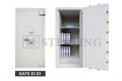 Safe ID 3 with Additional 2 Moving Bolts on Each Top & Bottom