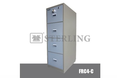 4 Drawer Fire Resistant Cabinet